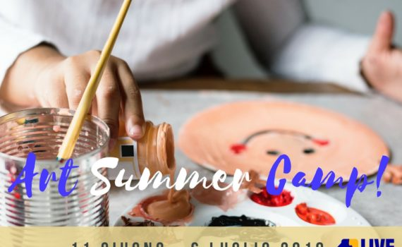 Art Summer Camp Centri estivi in inglese Firenze a cura di Live Institute